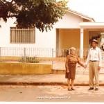 Giulia Quadri col marito a S. Antonio de Platina nel Paranà, Brasile.