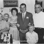 Credi Bruno con la moglie e i suoceri a San Paolo nel Brasile