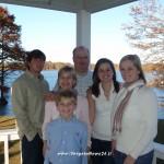 Charles Mascagni e la sua famiglia a Baton Rouge in Louisiana , USA