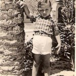 6 -Franco Gamberi a 3 anni Sirte, in Libia,