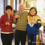 con Franco Pezzulli e sua moglie Giuliana