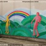 Scuola media E. Veggetti Vergato -murales