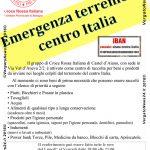 Microsoft Word - locandina donazioni terremoto.docx