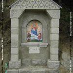 Fig. 15 - L'edicola votiva di Castelnuovo ricostruita