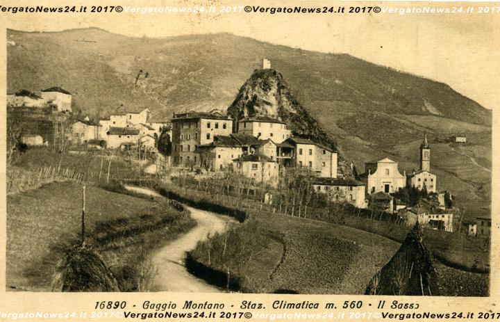 Le cartoline di Alfonso Ferri dove si nota l edificio citato sulla sommità  del Sasso. e3ee3c931cad