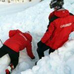 Esercitazione di autosoccorso 05 02 2021-Monte Cimone 3
